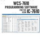 WCS-7610 Software  IC-7610