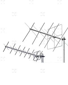 X-Quad Antennas for 144 and 432 MHz